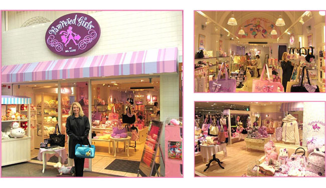 Pampered Girls Retail Boutiques