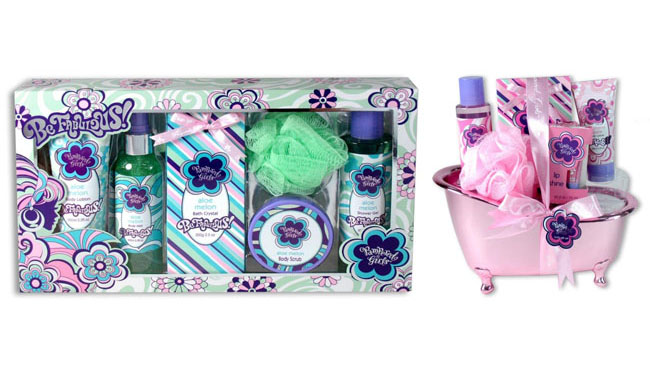 Pampered Girls Bath & Body Products